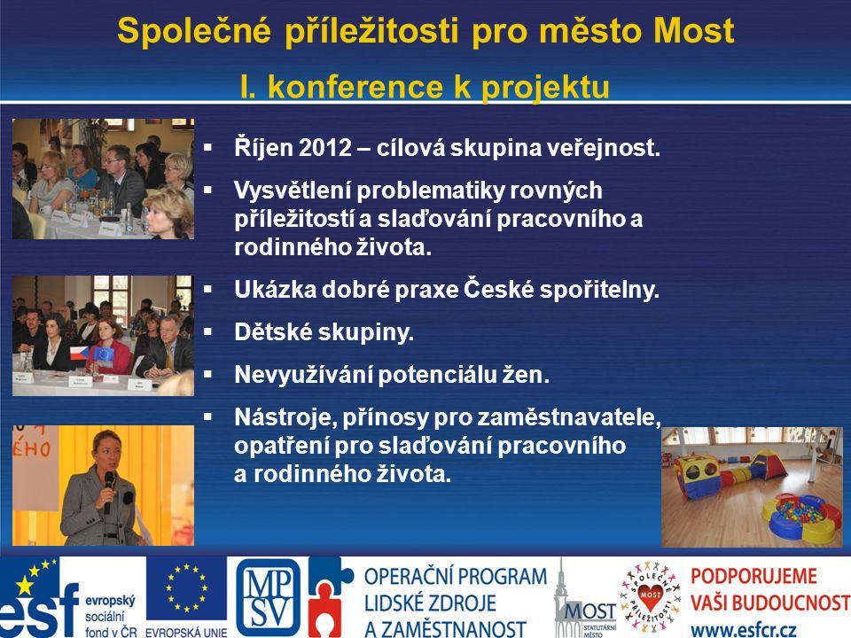 www.mesto-most.cz Společné příležitosti pro město Most I.