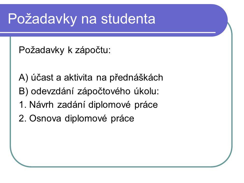 Doporučená literatura ECO, U.Jak napsat diplomovou práci.