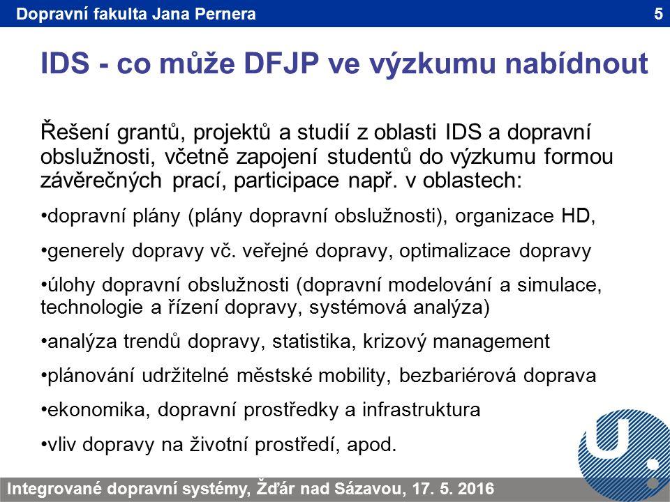 IDS - co může DFJP ve výzkumu nabídnout 5TRANSCOM - Žilina 200923.