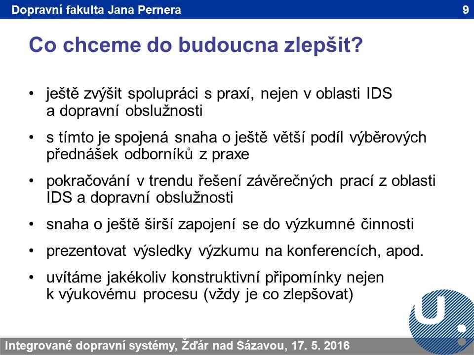 Co chceme do budoucna zlepšit.9TRANSCOM - Žilina 200923.