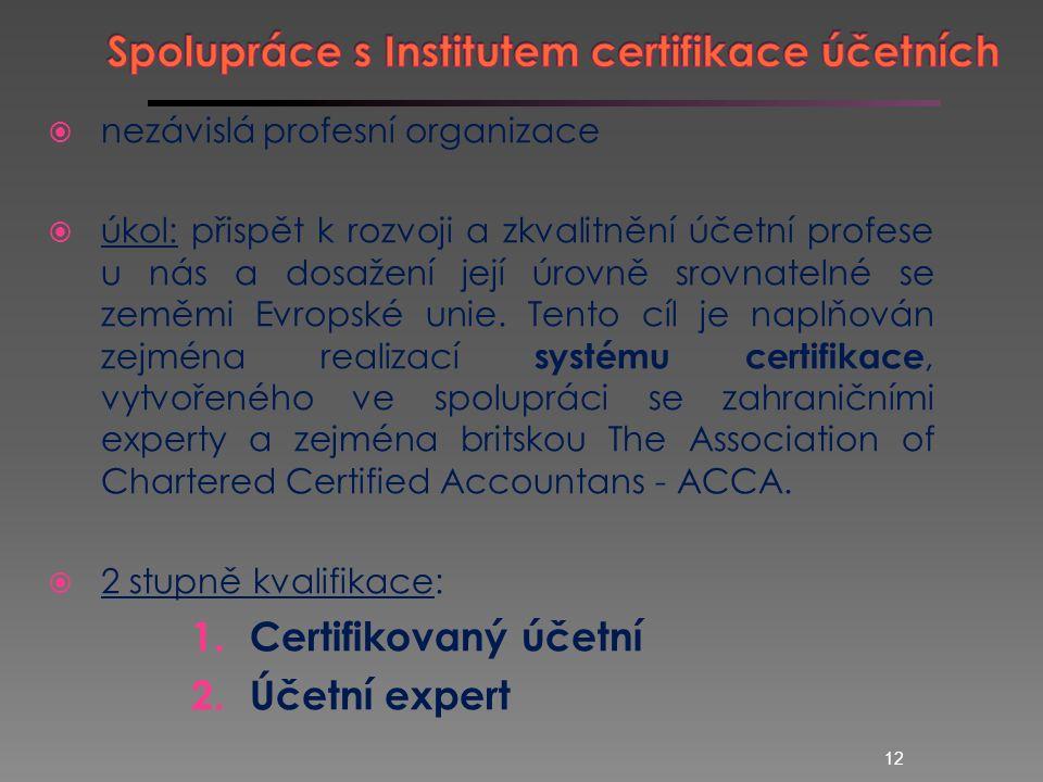  využití při výuce v účetních a daňových předmětech, např.: Základy účetnictví, Finanční účetnictví Účetní závěrka Daňový systém  SW je k dispozici na počítačových učebnách EF JU 11