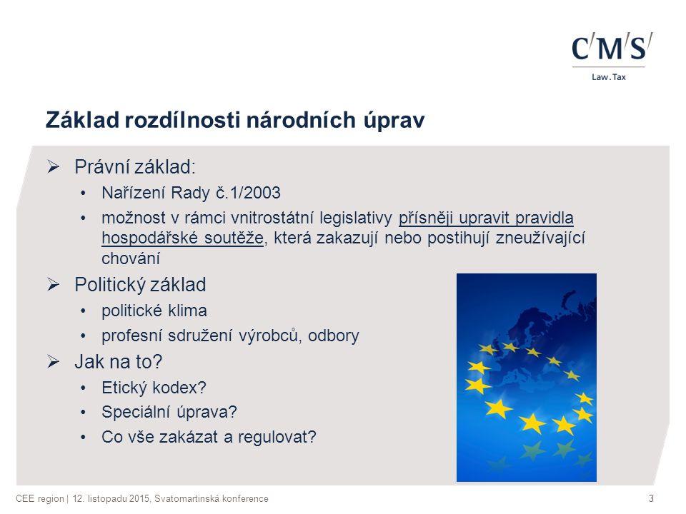 CEE region | 12.