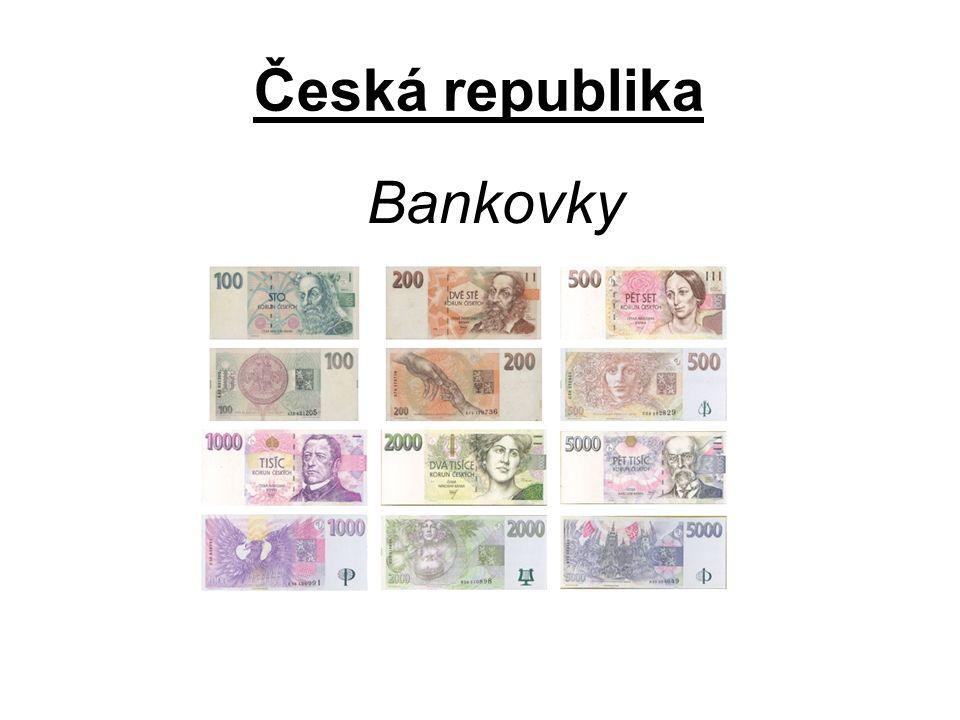 Česká republika Bankovky