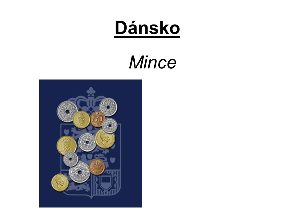 Dánsko Mince