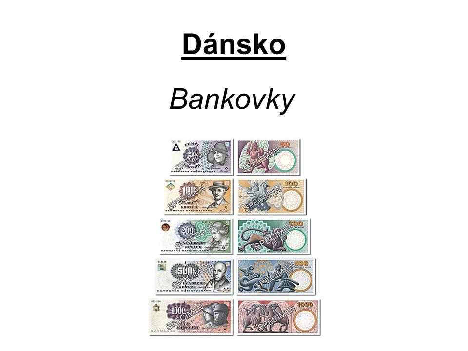 Dánsko Bankovky