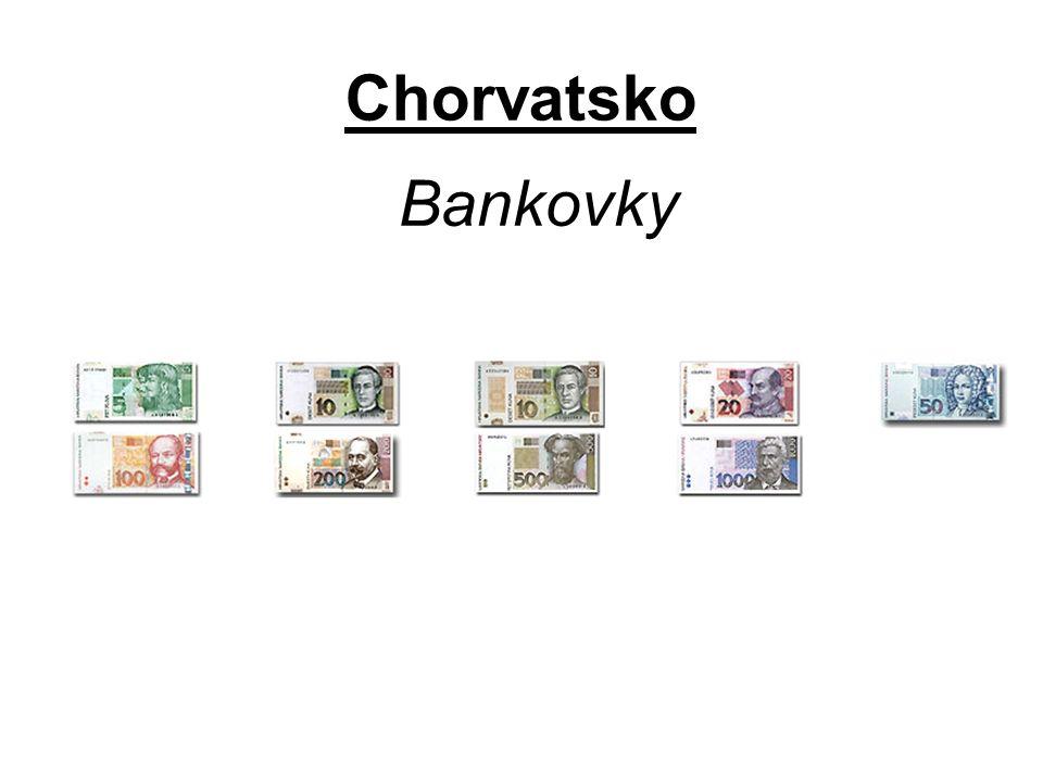 Chorvatsko Bankovky