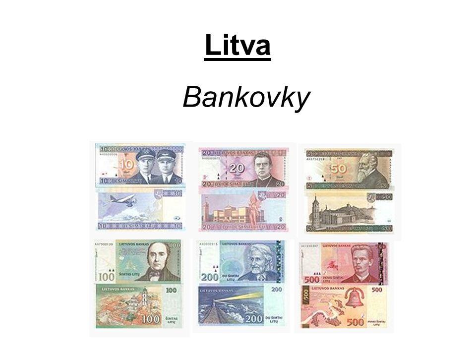 Litva Bankovky