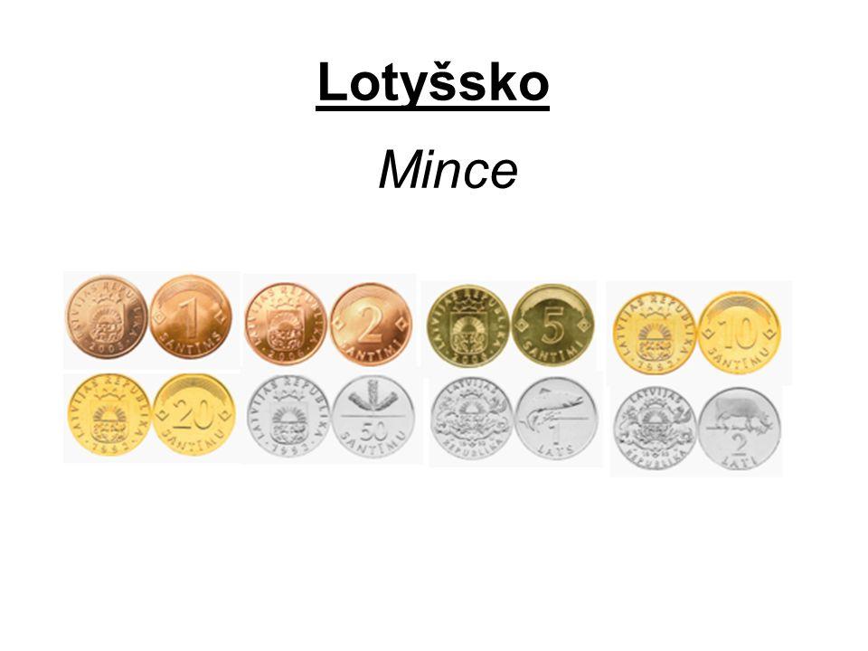 Lotyšsko Mince