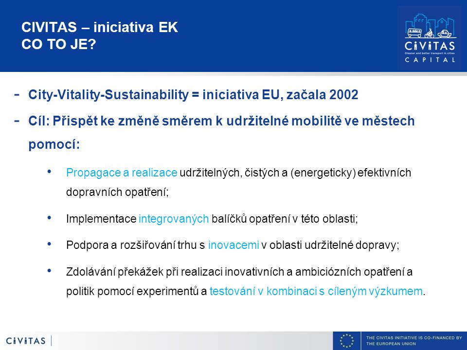 CIVITAS – iniciativa EK CO TO JE.