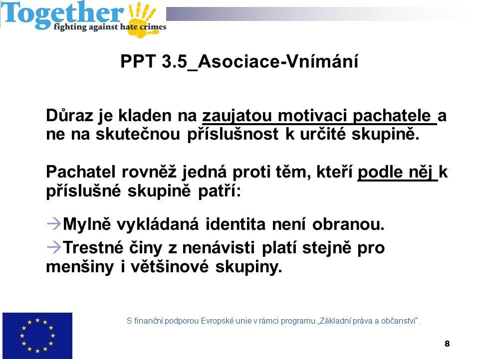 PPT 8.2 CS_Spolupráce s ohroženými komunitami / zvyšování povědomí většiny  OS oslovují komunity k vytvoření důvěry a pravidelné spolupráci.
