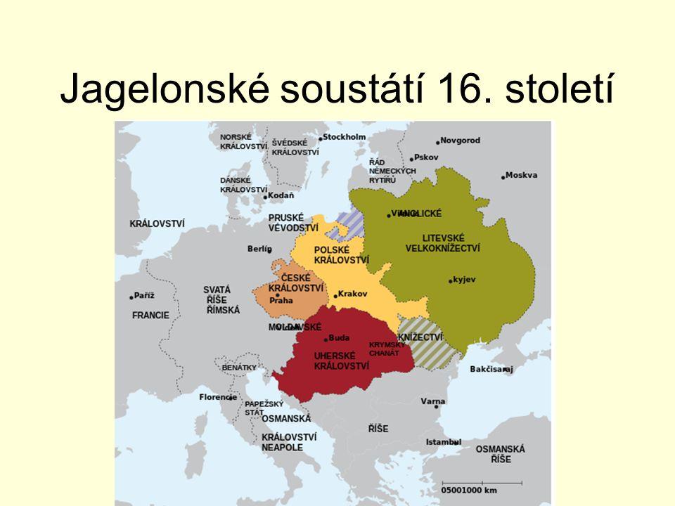 Jagelonské soustátí 16. století