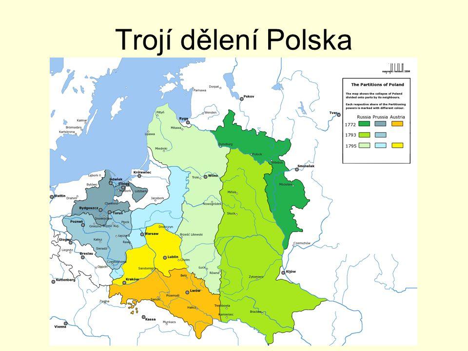 Trojí dělení Polska