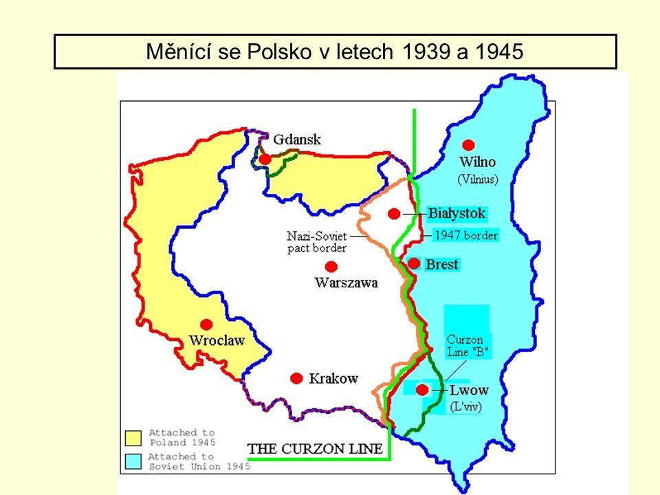 Měnící se Polsko v letech 1939 a 1945