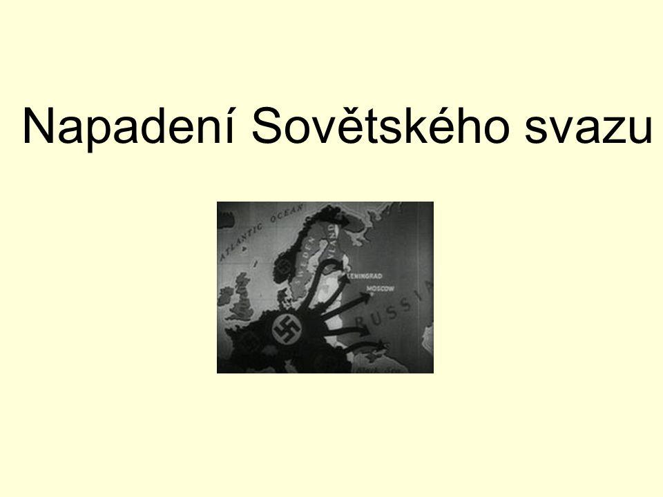 Napadení Sovětského svazu