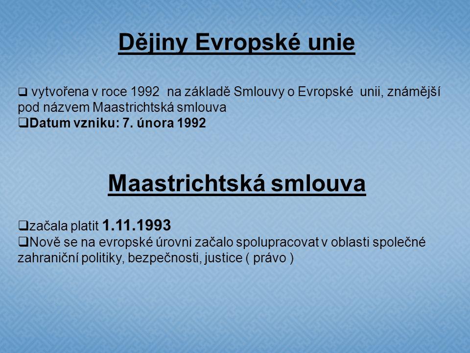 Evropská unie Zkratka: EU Je společenství demokratických států, spojených zásadami svobody, právního státu a úcty k lidským právům  jde o politické a