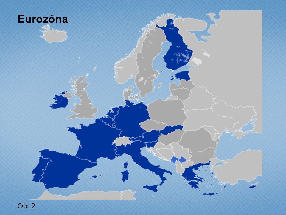 Obr.2 Eurozóna