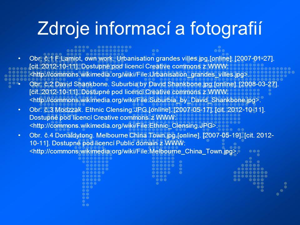 Zdroje informací a fotografií Obr. č.1 F Lamiot, own work.
