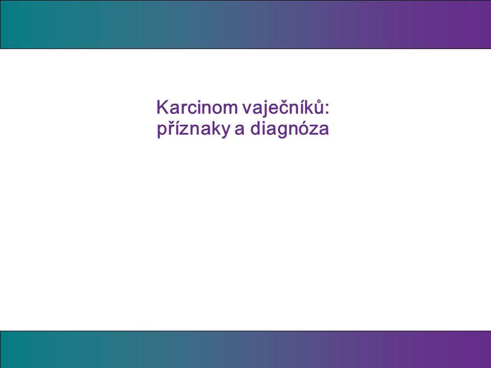 Karcinom vaječníků: příznaky a diagnóza