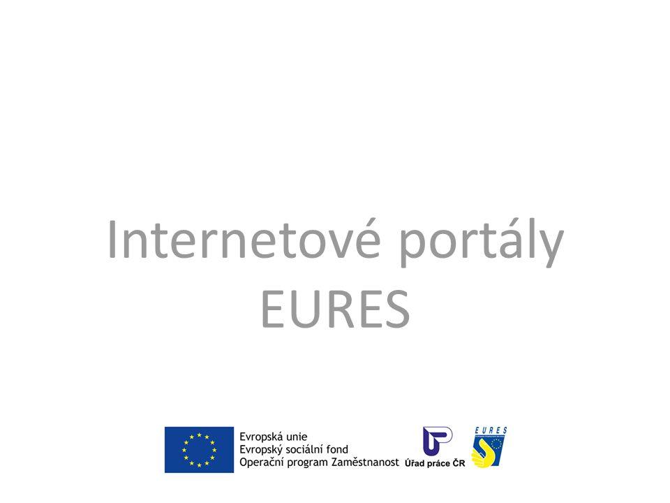 Portál EURES České republiky www.eures.cz www.eures.cz