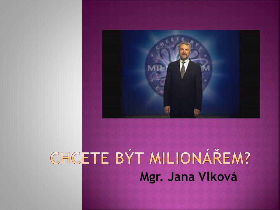 Mgr. Jana Vlková