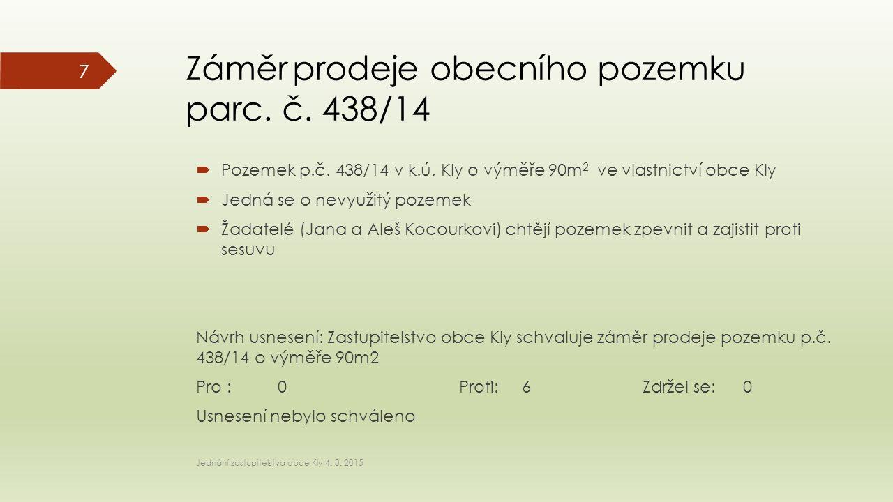  Pozemek p.č. 438/14 v k.ú.