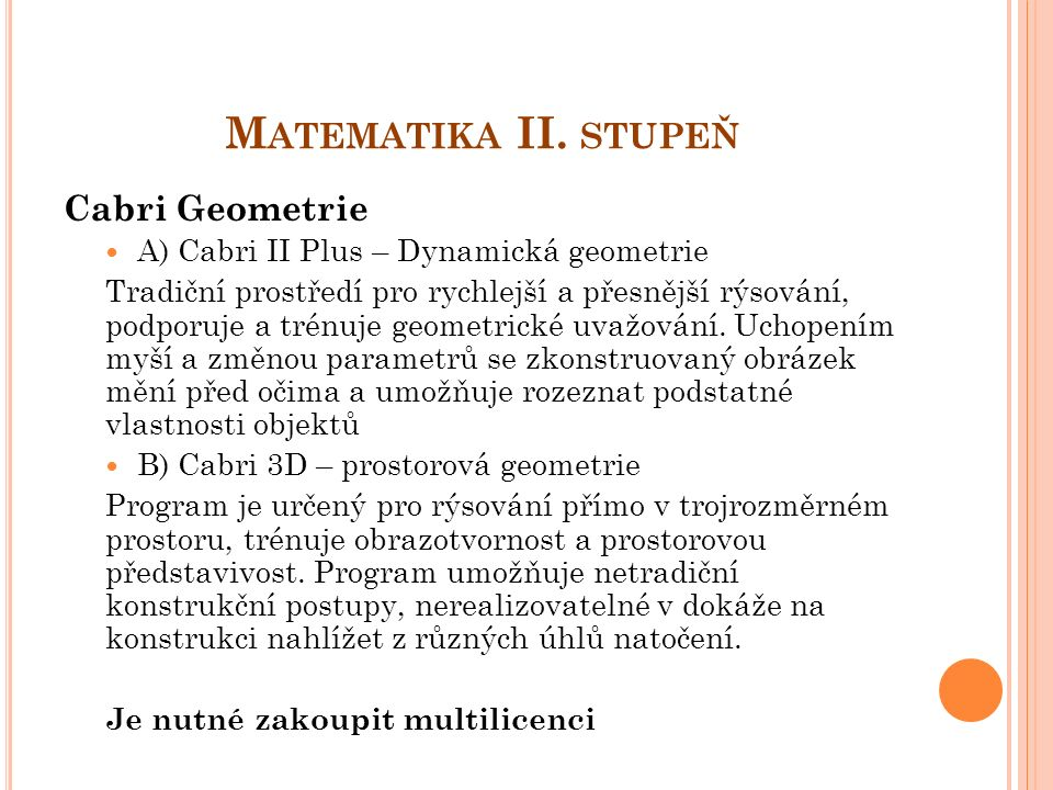 M ATEMATIKA II.