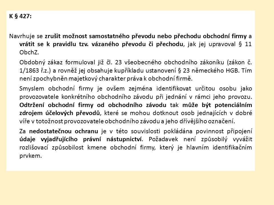 Občanský zákoník zák.č. 89/2012 Sb. vychází z PÚ, ze ZPNS a z obch.