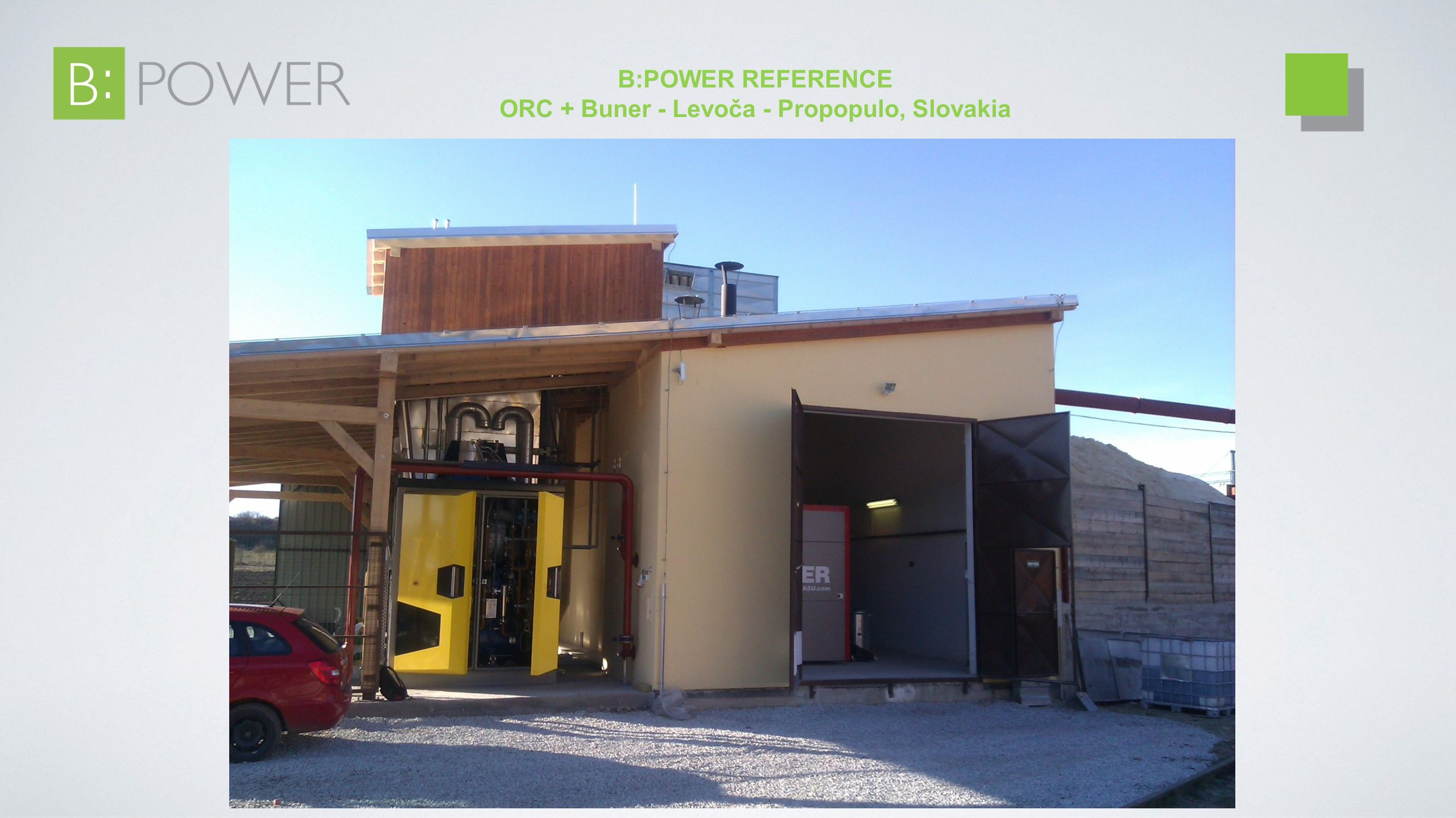 B:POWER REFERENCE ORC + Buner - Levoča - Propopulo, Slovakia