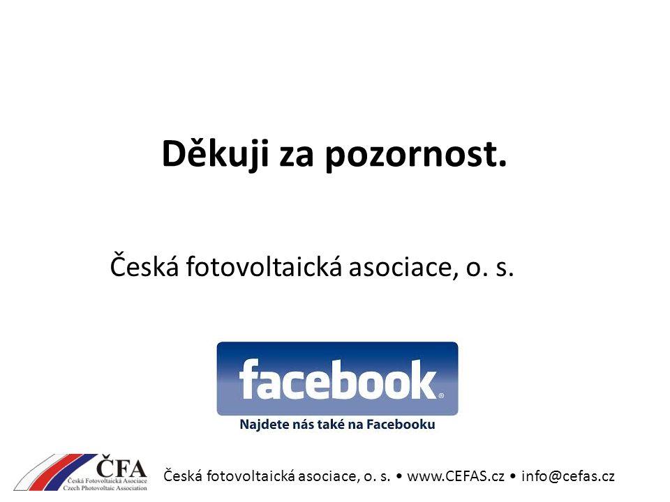 Děkuji za pozornost.Česká fotovoltaická asociace, o.