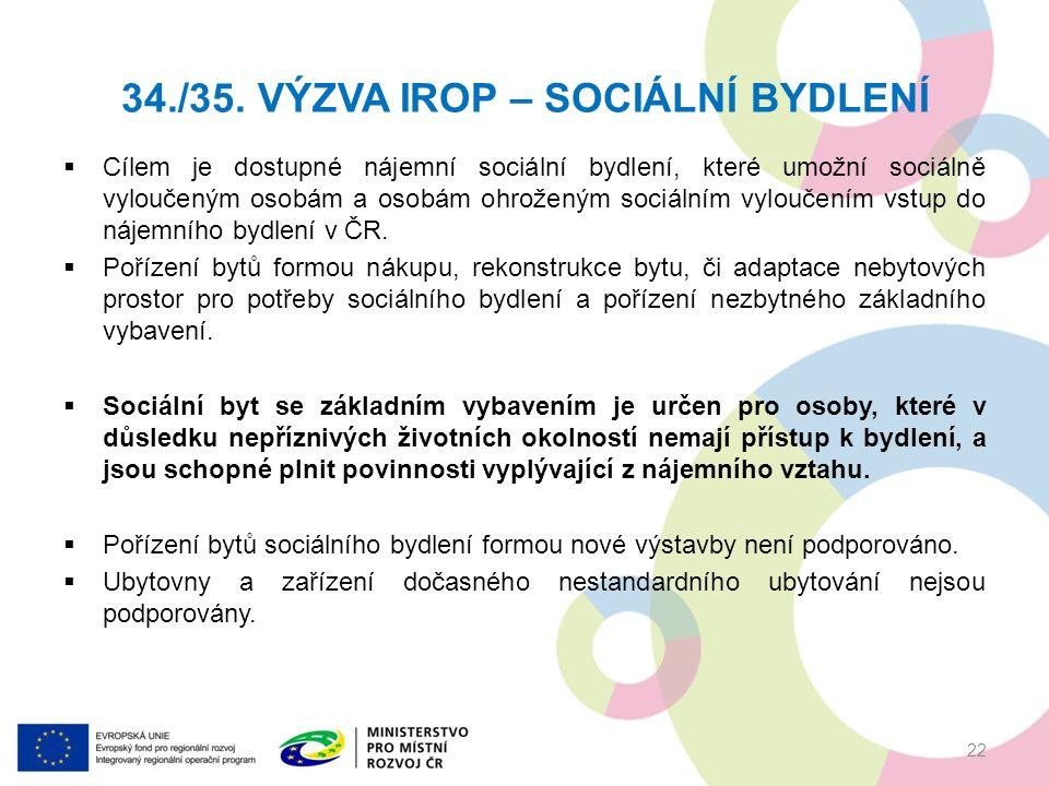  Cílem je dostupné nájemní sociální bydlení, které umožní sociálně vyloučeným osobám a osobám ohroženým sociálním vyloučením vstup do nájemního bydlení v ČR.