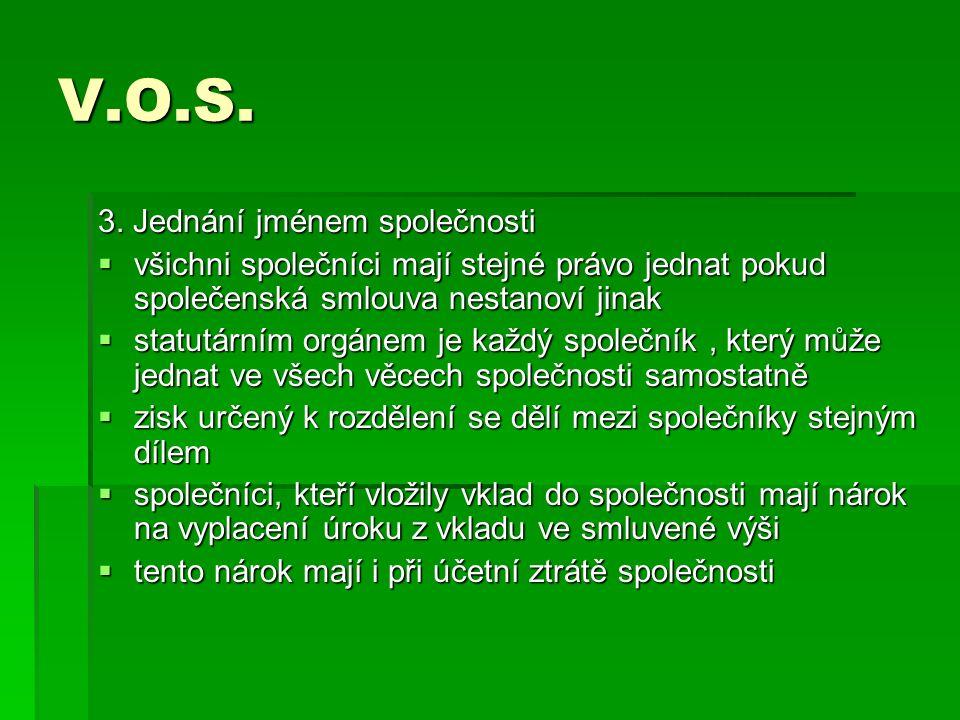 V.O.S. 3.