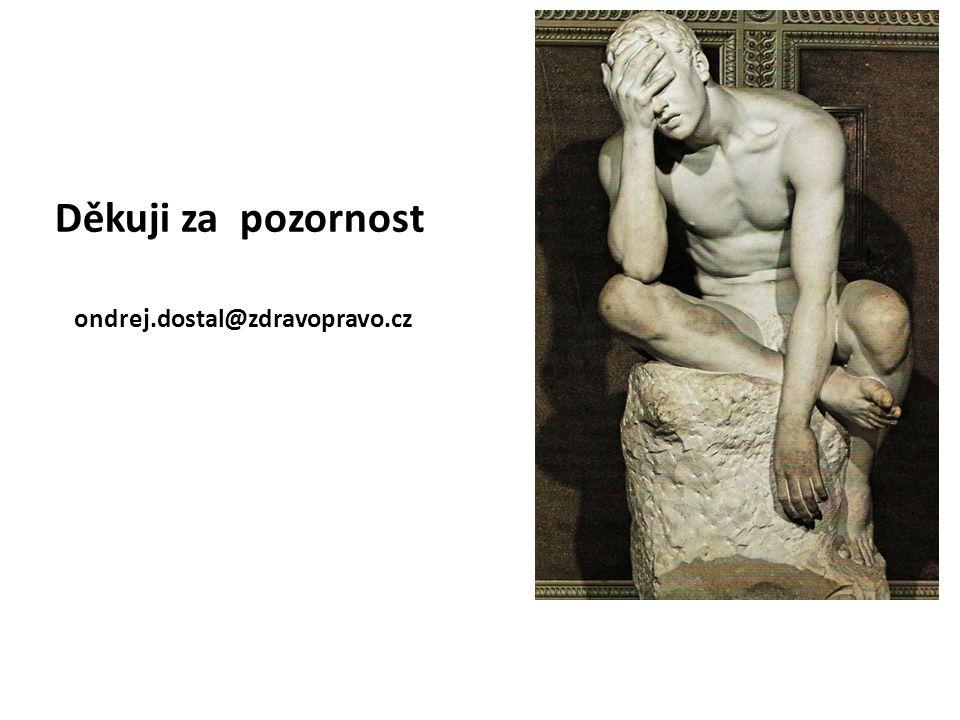 ondrej.dostal@zdravopravo.cz Děkuji za pozornost