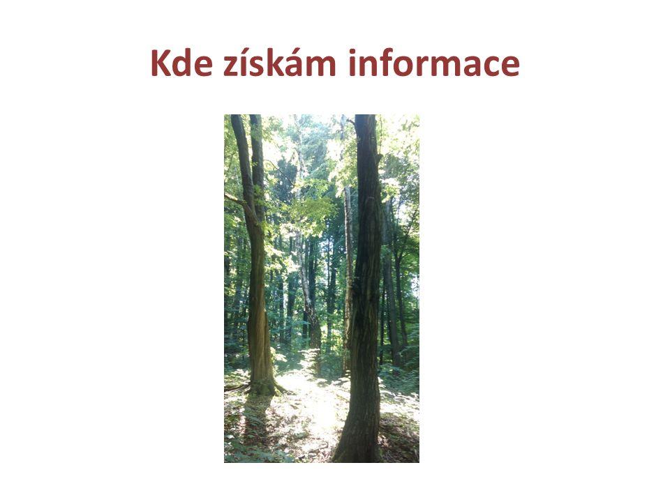 Kde získám informace