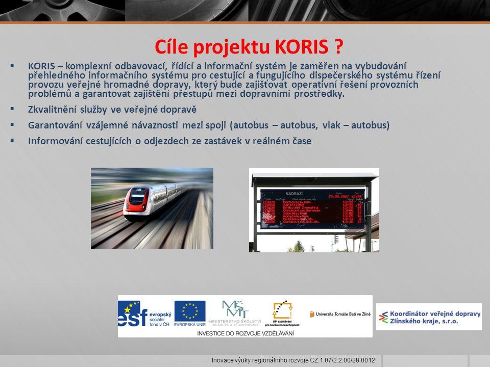 Cíle projektu KORIS .