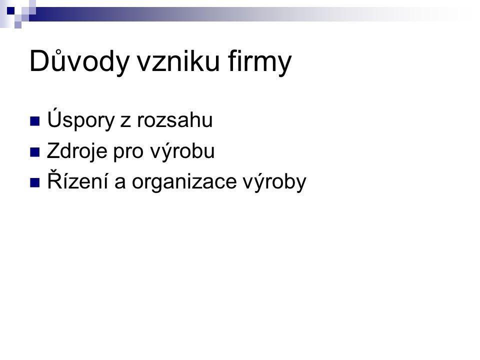 Firma (MiE) Živnost Partnerský podnik  VOS Spol.s r.o.