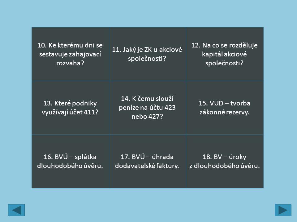 9.Zdroje Texty jsou tvorbou autora. Štohl, P. Učebnice Účetnictví 2013 – 2.