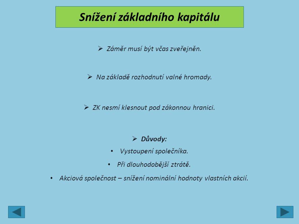 3.Kapitálové fondy  Účet 413.  Vklady společníků, které nezvyšují ZK, a dary.