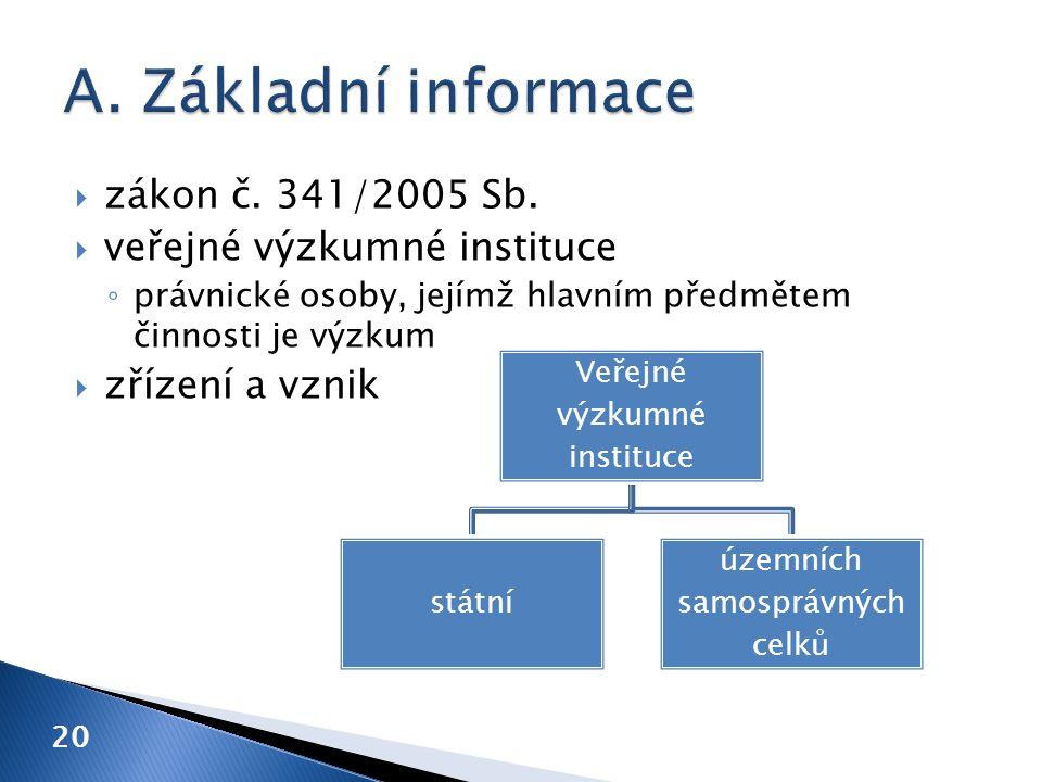  zákon č. 341/2005 Sb.