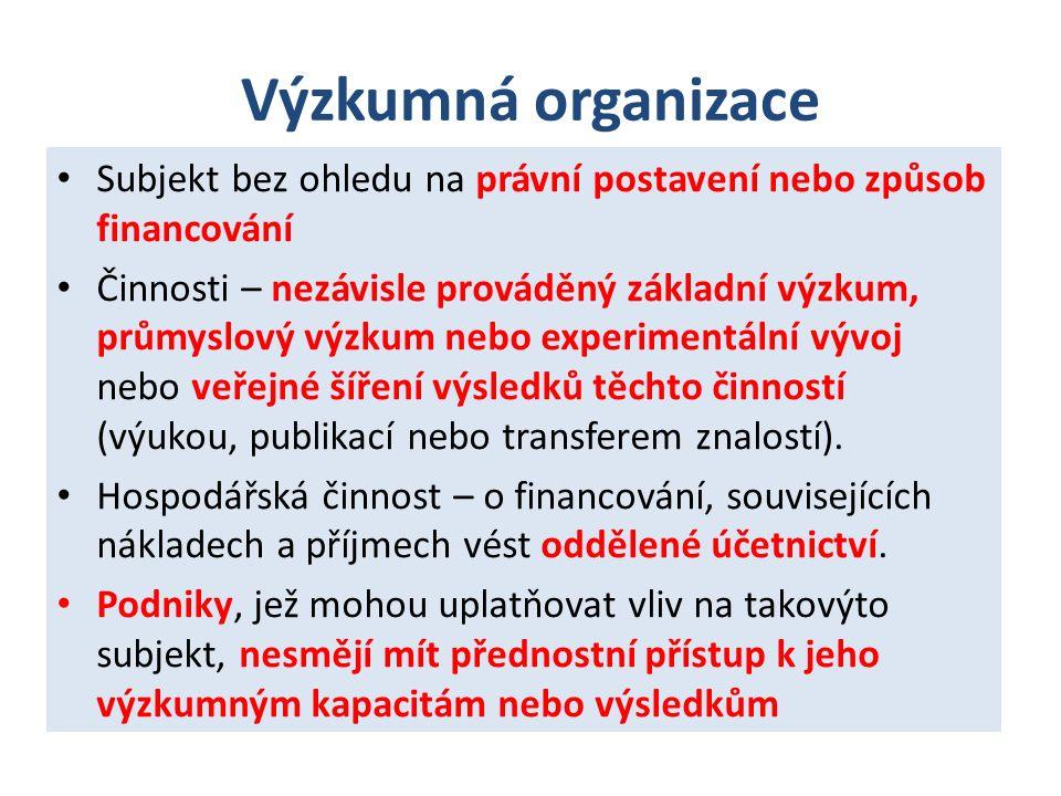 Pojmy (§2) Smluvní výzkum Způsobilé náklady Transfer znalostí (§ 3 odst.