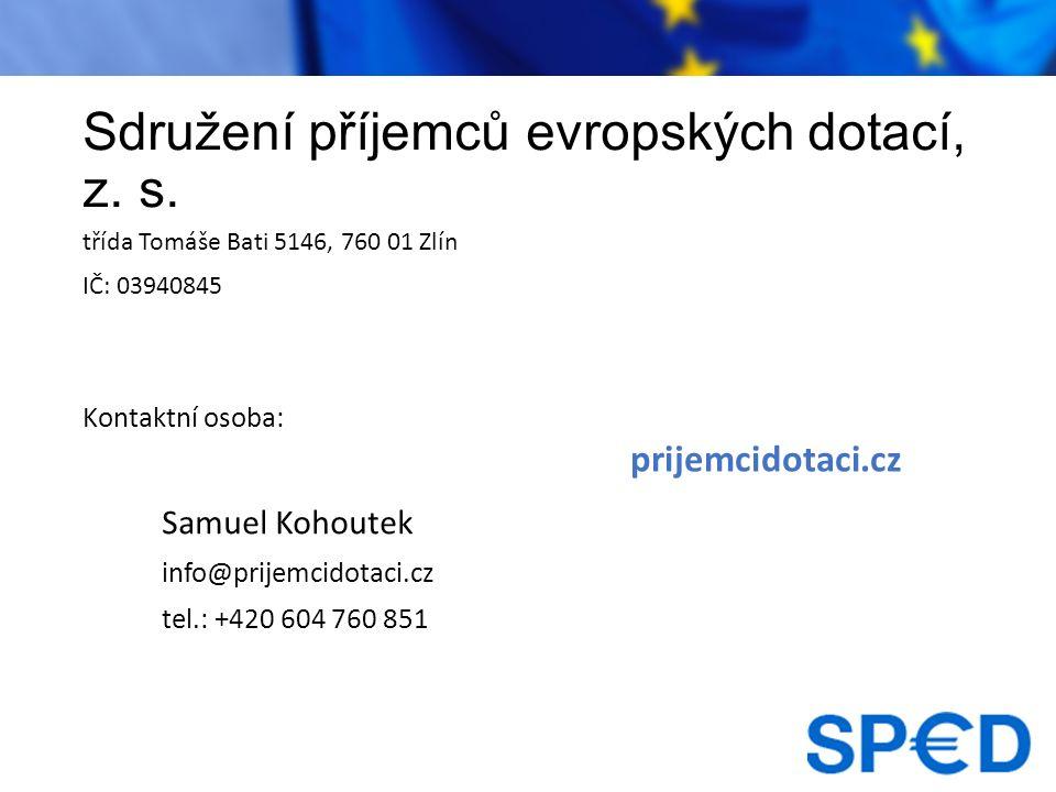 Sdružení příjemců evropských dotací, z. s.