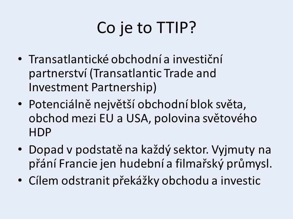 Týká se odpor vůči TTIP jen malé radikální menšiny.