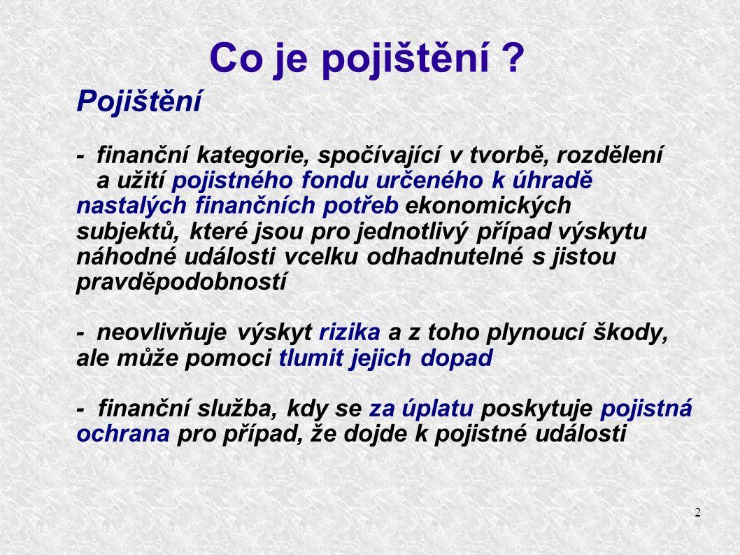 13 Základní právní předpisy upravující veřejné zdravotní pojištění Zákon č.