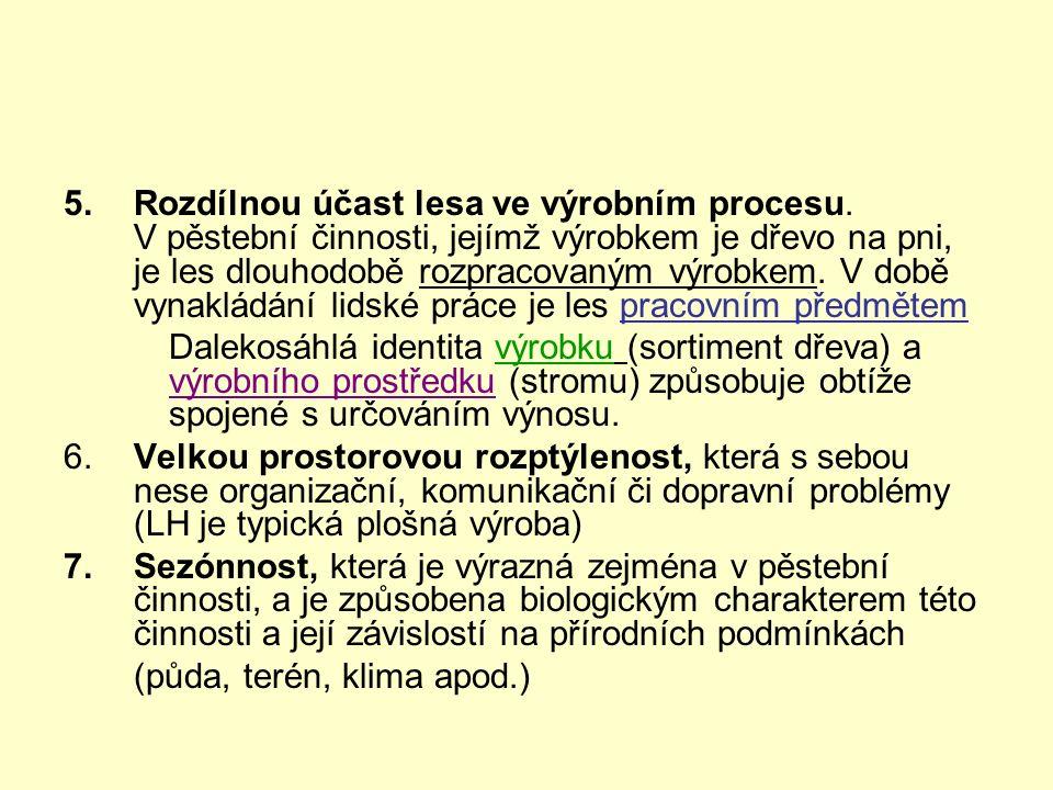 Použití úrokové míry v LH  faktor času v lesním hospodářství = doba obmýtní + úroková míra  použití v právní úpravě (příloha lesního zákona, vyhl.