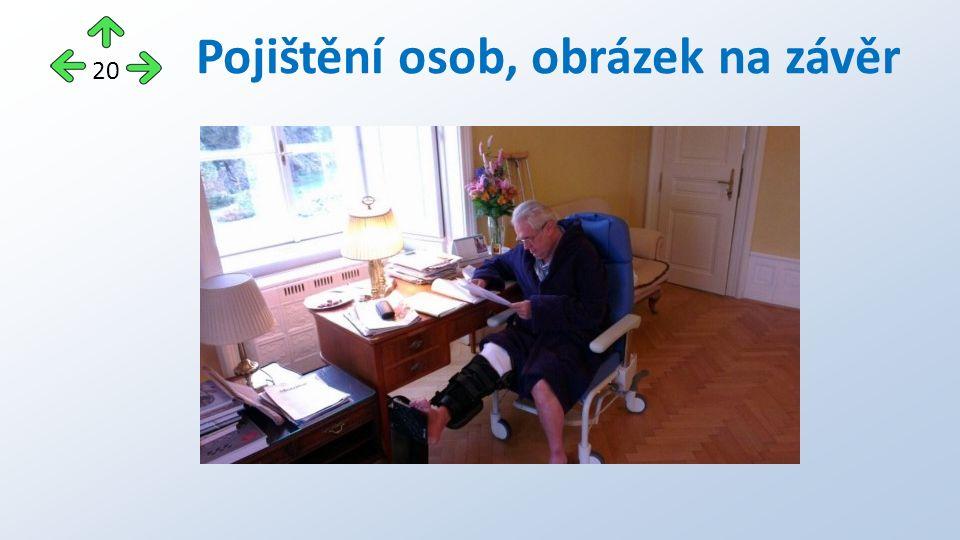Pojištění osob, obrázek na závěr 20