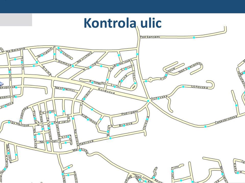 26 Seminář pro editory RÚIAN Praha 19. 5. 2015 Kontrola ulic