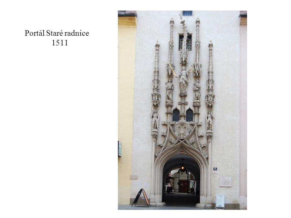 Portál Staré radnice 1511