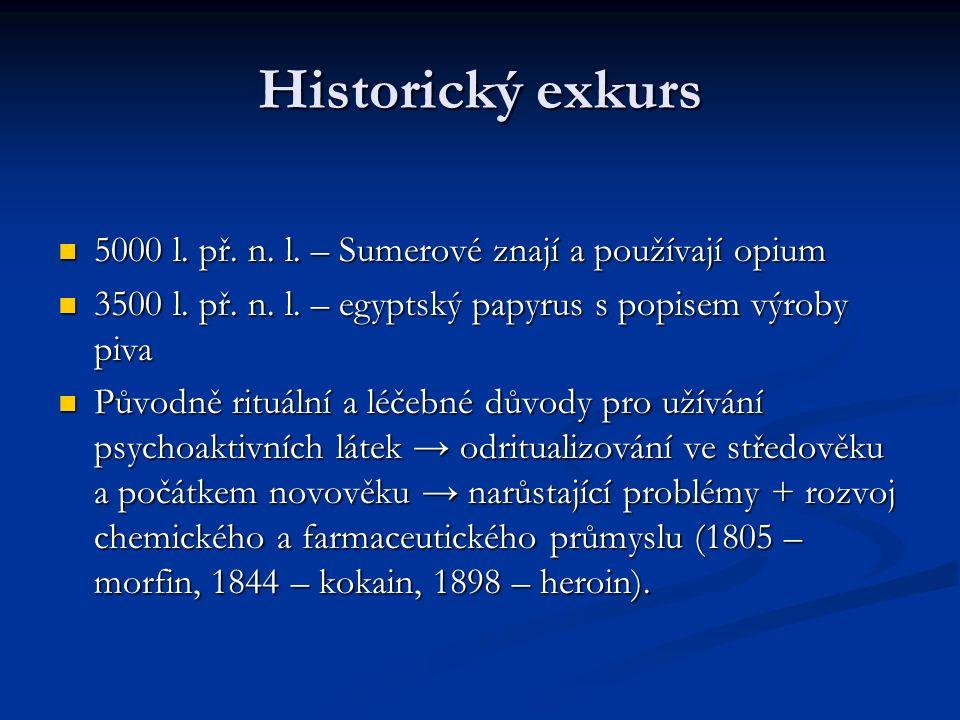 Historický exkurs 5000 l. př. n. l. – Sumerové znají a používají opium 5000 l.