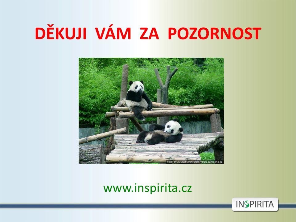 DĚKUJI VÁM ZA POZORNOST www.inspirita.cz