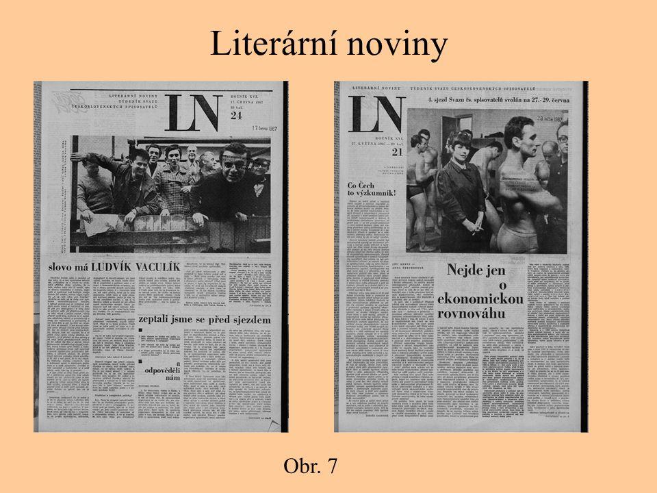 Literární noviny Obr. 7