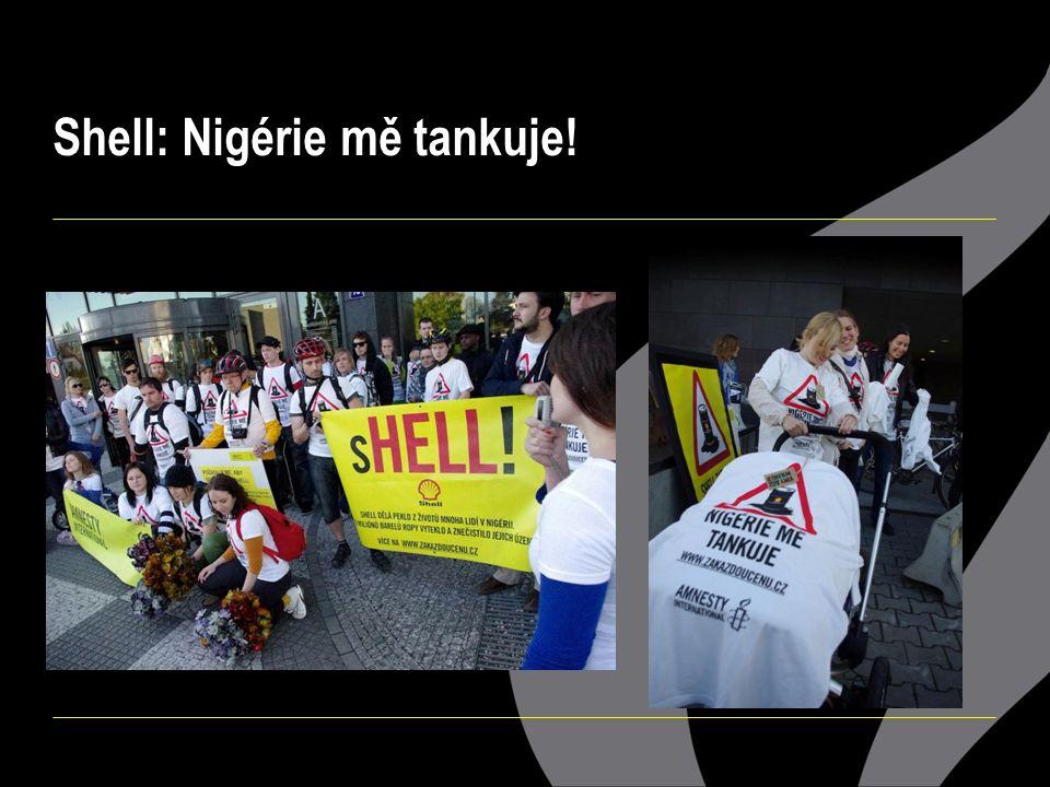 Shell: Nigérie mě tankuje!